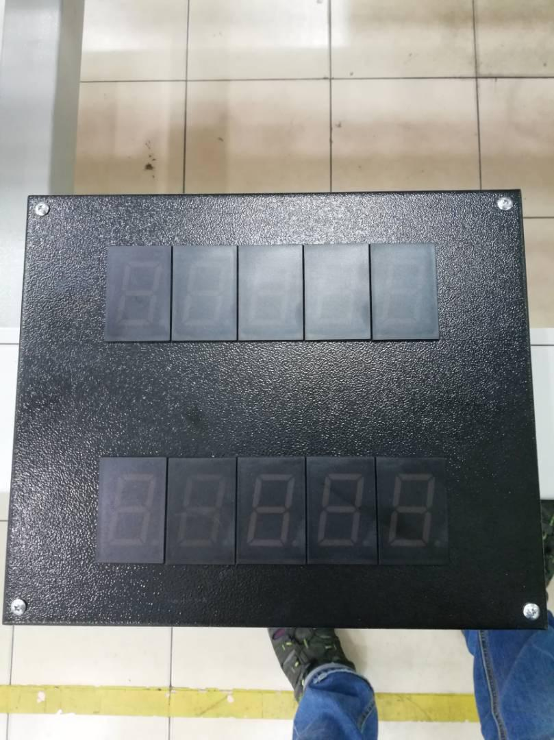 Supply and install panel board, sensor, rotary encoder with led digital display