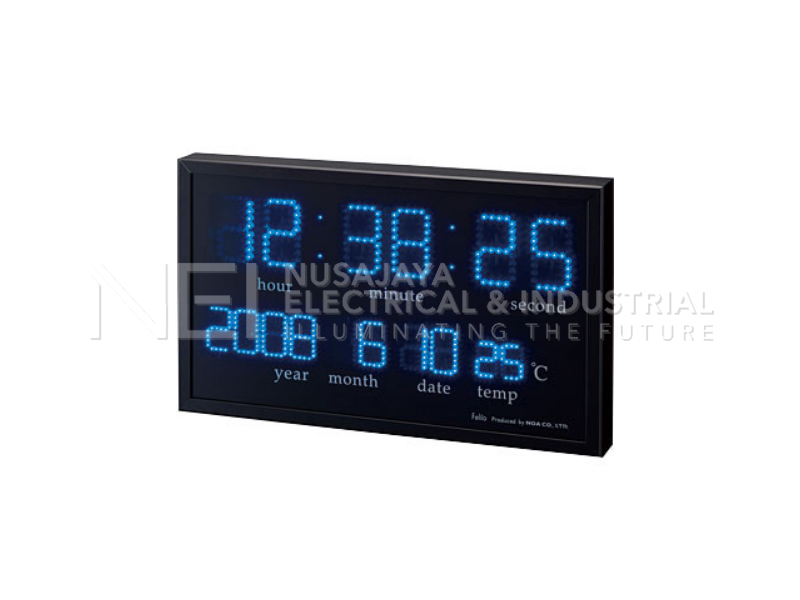 LED digital clock Aguila