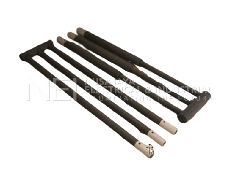 Silicon Carbide Rod SiC Heater Element Thermocouple Components for Industrial