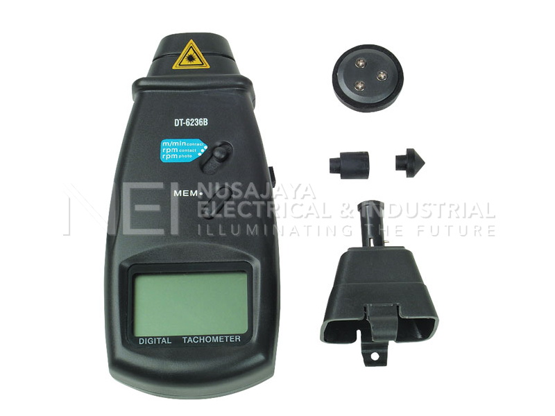 ATP DT-6236B Laser Optical / Contact Tachometer