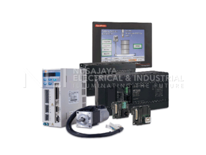 PLC HMI and Servos Drives